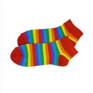b6348bd7b88 Duhové kotníčkové ponožky empty