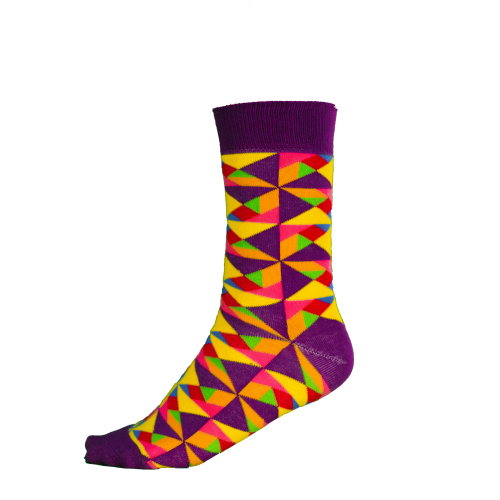 Ponožky tangram